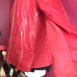 Worthington Jackets & Coats - Red pleather jacket!